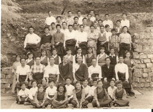 TIPA Group Photo, 1963 (Photo courtesy: Thubten Samdup)